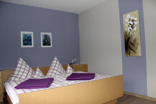 Zweites Schlafzimmer der großen Ferienwohnung